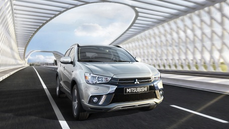 Mitsubishi ASX on the Road