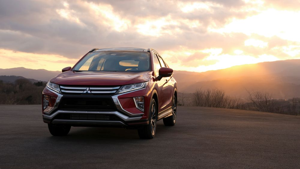 Red Mitsubishi Eclipse Cross lifestyle image