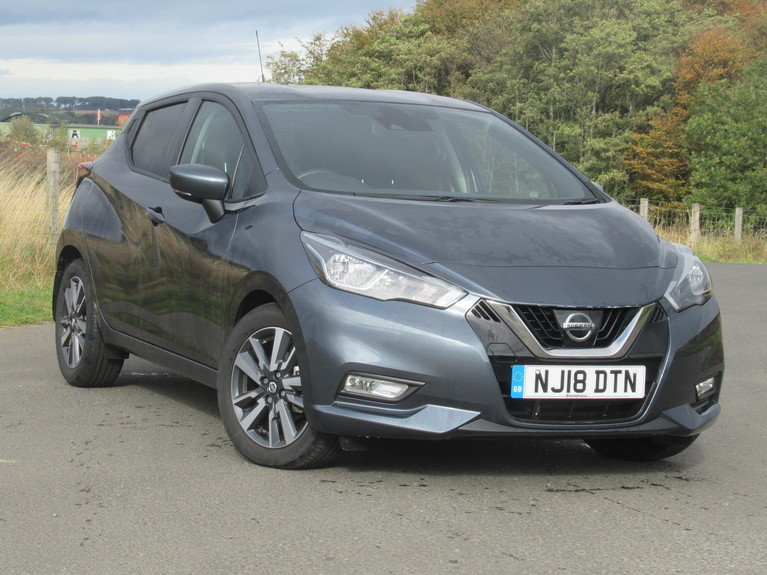 2018 NISSAN Micra 1.5 dCi N-Connecta 5dr