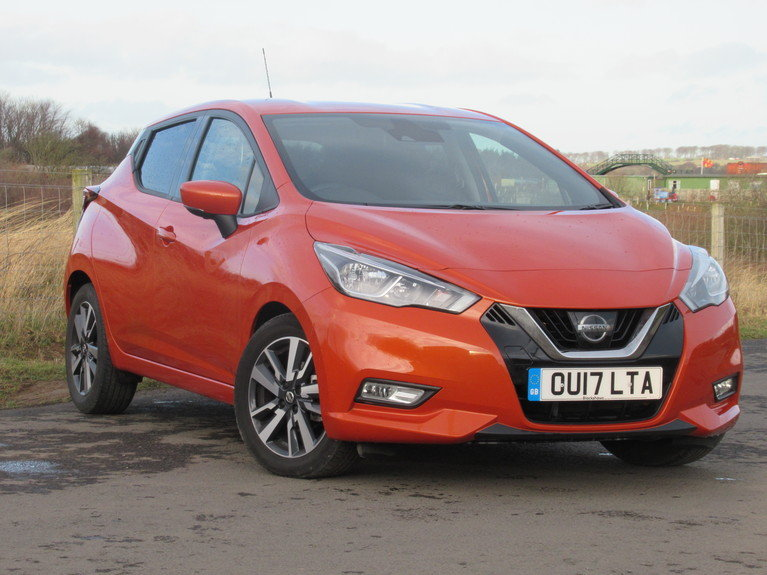 2017 NISSAN Micra 1.5 dCi N-Connecta 5dr