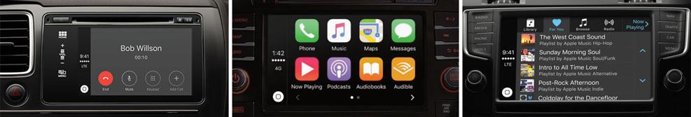 Apple CarPlay banner
