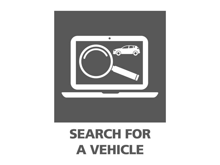 Search for a vehicle