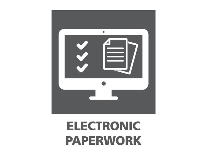 Electronic paperwork